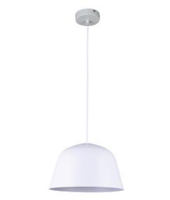 Pendant Light - Modern High Dome 155mm 40W Matte White