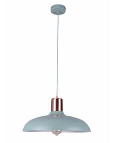 Pendant Light - Hanging Dome 216mm 40W Matte Green