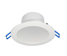 LED Downlight - Dimmable 7W 600lm IP44 Tri Colour Temp 95mm White