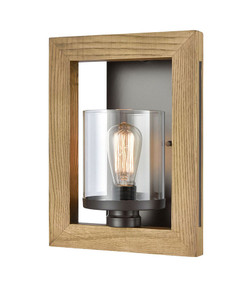 Indoor Wall Light - Modern Framed 340mm 60W