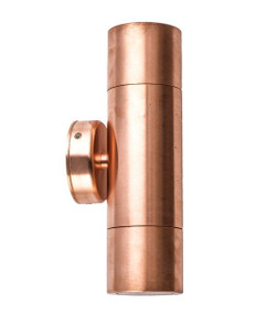 Up Down Light - Modern Cylindrical 12V 210mm 40W Copper