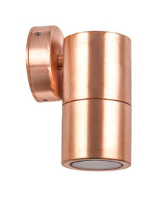 Outdoor Wall Light - Modern Cylindrical 12V 110mm 20W Copper