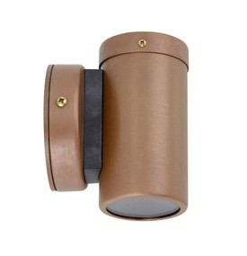 Outdoor Wall Light - Chic Cylindrical 105mm 35W Aged Copper