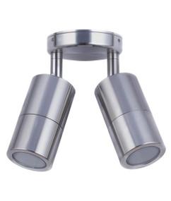 Ceiling Lights - 12V IP65 Adjustable 2 MR16 Spotlights Chrome C200