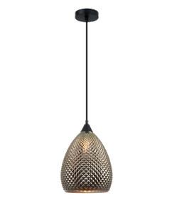 Pendant Light - Hanging Elliptical Glass 320mm 72W Gold