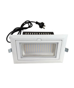 Gimble Downlight - Non-Dimmable 38W 3800lm IP20 4000K 246mm White Shop Light