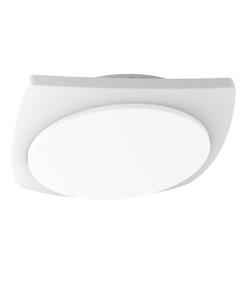 Oyster Light - Modern Sleek 3000K 980lm 55mm 20W White