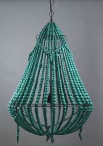 Chandelier - Large, Royal Green BCR