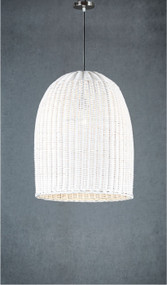 Pendant Light - Medium, White BWD