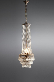 Chandelier - Crystal 4 Lights DRN