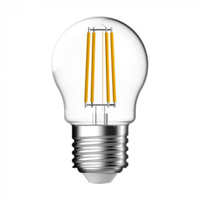 E27 LED Filament Globe - White FTM