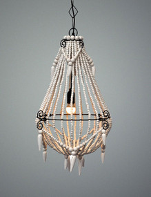 Chandelier - Small, White MRY