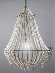 Chandelier - Large, White MRY