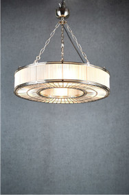 Pendant Light - Medium, Nickel FSK