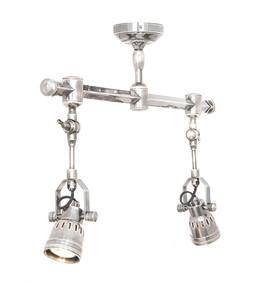 Ceiling Lights - Adjustable Spotlights Antique Silver STL