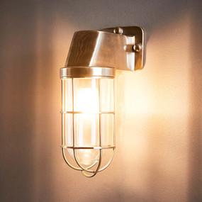 Outdoor Wall Light - Antique Brass RLN