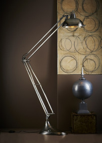 Floor Lamp - Antique Silver MRY