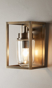 Oudoor Wall Light - Brass WLN