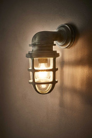 Outdoor Wall Light - Old Iron Finish PTO