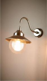 Oudoor Wall Light - Antique Silver ZMT