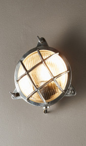 Outdoor Wall Light - Silver PEN