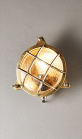 Outdoor Wall Light - Brass PEN