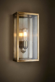 Indoor Wall Light - Antique Brass GDN
