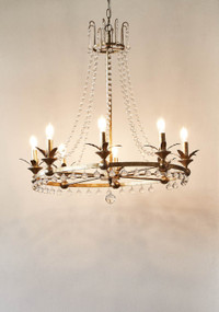 Chandelier - Antique Silver RCO