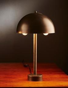 Table Lamp - Antique Zinc PKR