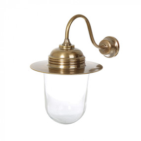 Indoor Wall Light - Antique Brass SME