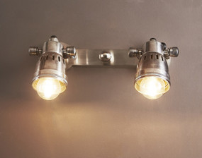 Indoor Wall Light - Antique Silver DVN