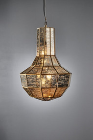 Pendant Light - Brass VCR