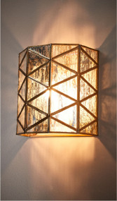 Indoor Wall Light - Antique Brass BHR