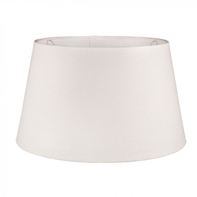 Lampshade - 14x12x9.5 Ivory Linen Euro