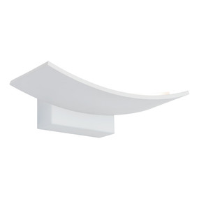 Indoor Wall Light - Sleek Curve 3000K 720lm 50mm 6W White
