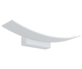 Indoor Wall Light - Sleek Curve 3000K 1440lm 50mm 12W White