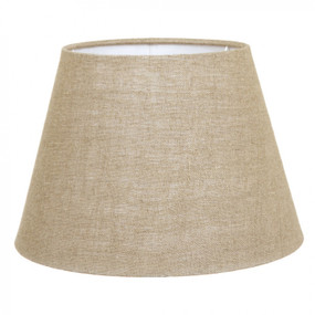 Lampshade - 14x9x9.5 Natural Linen Euro