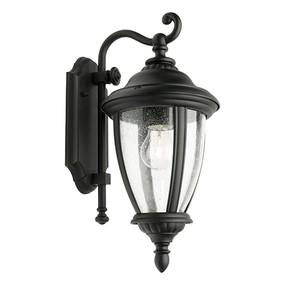 Outdoor Wall Light - Marine Grade 60W IP43 395mm Black