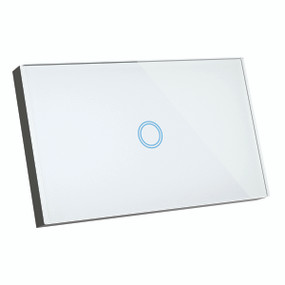 Smart Switch - 1 Gang Designer Glass Touch On Off