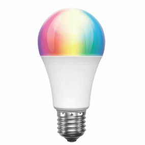 Smart Light Bulb E27 RGB LED - Dimmable 9W 800lm 3000K Multi Colour