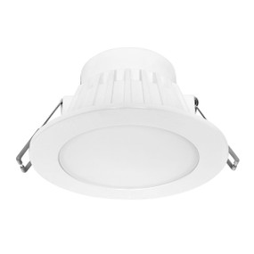 LED Downlight - Dimmable 8W 720lm IP44 3000K 115mm White