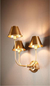Indoor Wall Light - Brass TRA