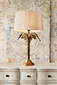 Table Lamp - Antique Brass REY