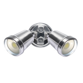 Spotlight - 22W 1500lm IP44 4200K 95mm Brushed Nickel