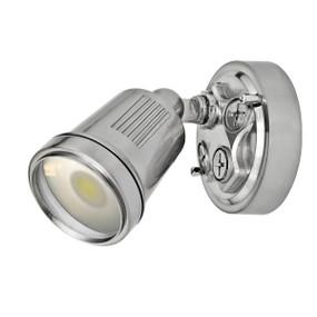 Spotlight - 11W 750lm IP44 4200K 95mm Brushed Aluminium