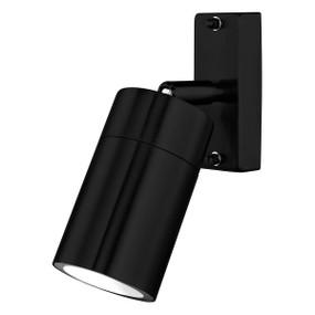 Outdoor Spotlight - Adjustable GU10 35W 300lm IP44 3000K 188mm Black
