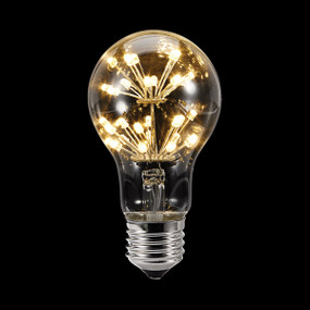 LED Filament Globe - Round E27 115lm 2400K 109mm 1.5W