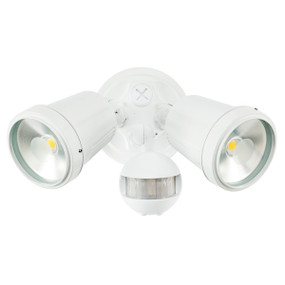 Motion Sensor Spotlight - 22W 1500lm IP44 4200K 95mm White