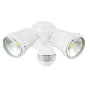Motion Sensor Spotlight - 22W 1500lm IP44 4200K 95mm White