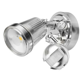 Motion Sensor Spotlight - 11W 750lm IP44 4200K 95mm Brushed Nickel